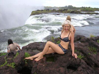 Victoria Falls Devil's Pool Extreme Adventure Vacations Zambia