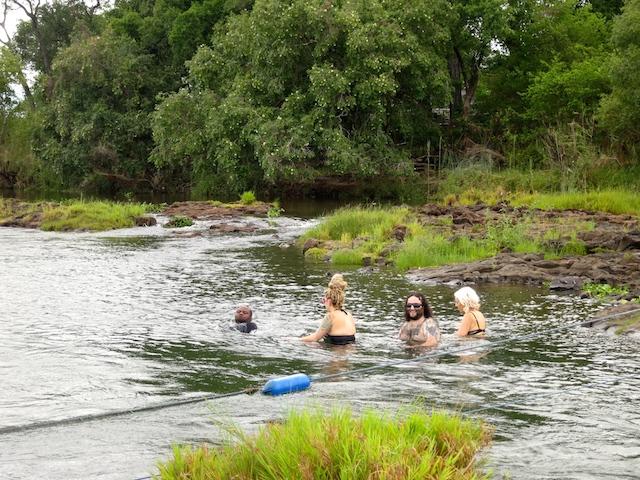 Victoria Falls Devil's Pool Zambizi River