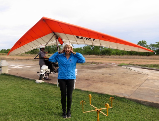 Activities at Victoria Falls, microlight