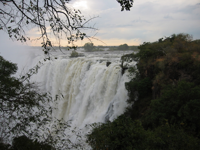 Best hotel in Victoria Falls, falls in wet season
