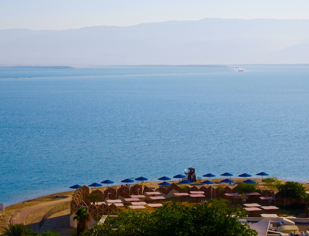 Dead Sea Daniel Hotel private beach