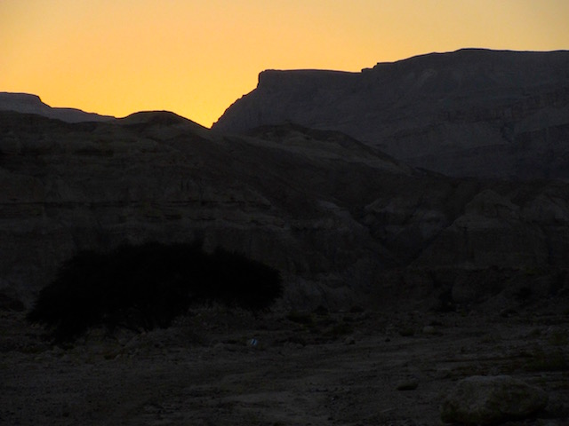 Dead Sea desert Israel