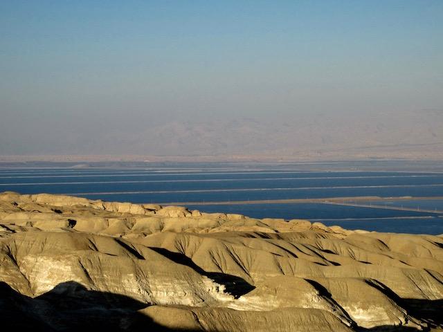 Dead Sea from the Judean Desert