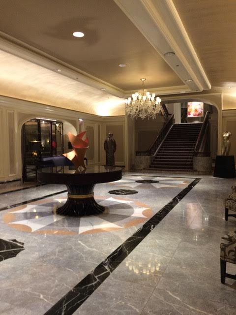 Four Seasons Hotel Chicago lobby