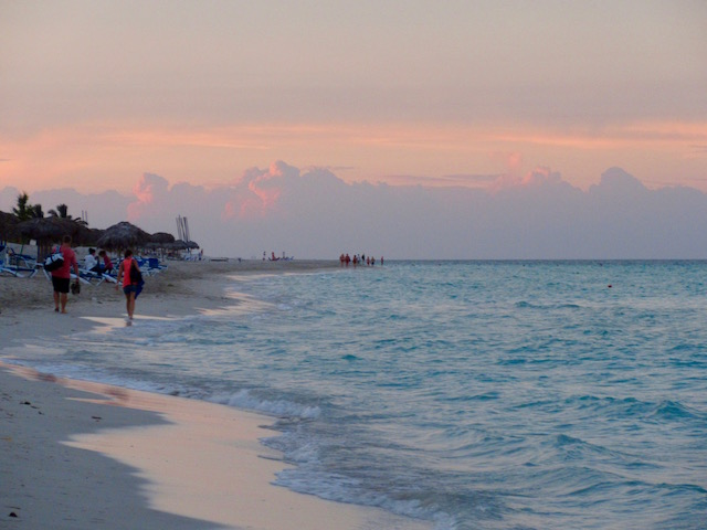 Paradisus Princesa del Mar blog, sunset