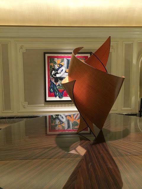 Weekend in Chicago, Four Seasons Hotel art
