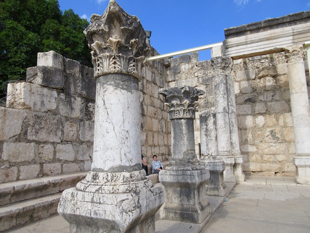Ruins of Capernaum in Israel