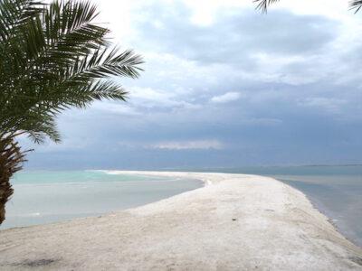 Israel Dead Sea road of salt
