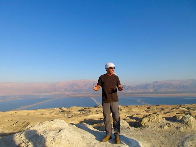 Judean Desert jeep tour guide