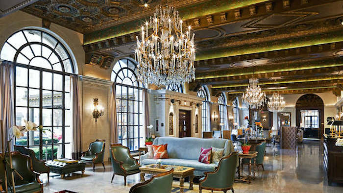 One day in Washington DC St Regis Lobby