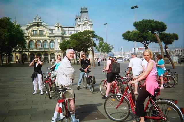Soft adventure, Barcelona Bike Tour