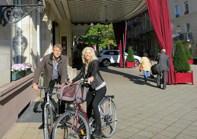 Soft adventure travel cycling in Baden-Baden