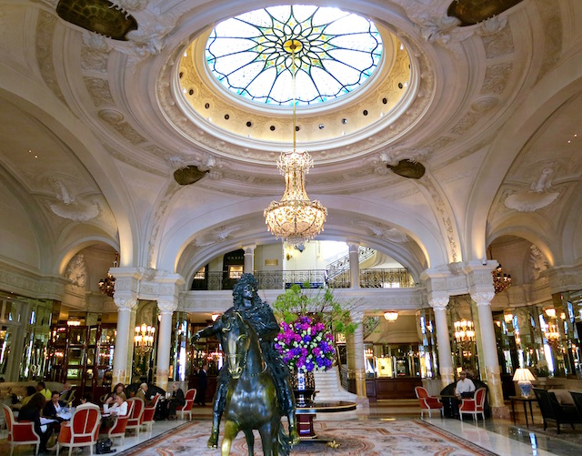 Inside the Hotel de Paris Monte Carlo