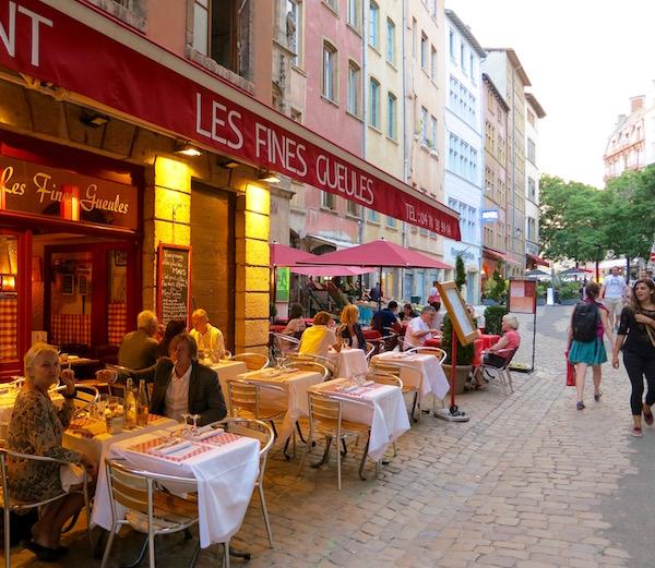 Les Fines Gueules, Lyon restaurants and bouchons