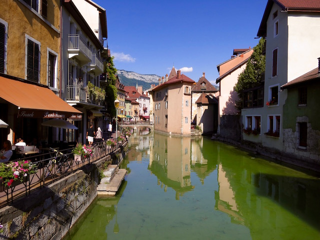 One day in Annecy Old Town