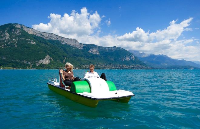 Pedel Boat Annecy
