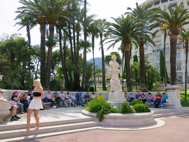 Things to do in Monte Carlo garden