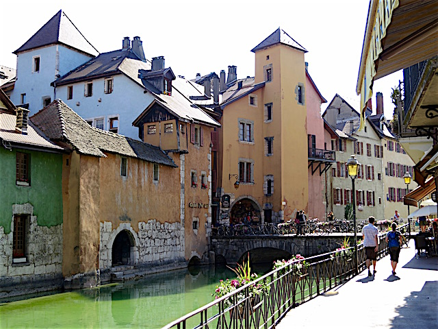 Visit the Old Town in Annecy