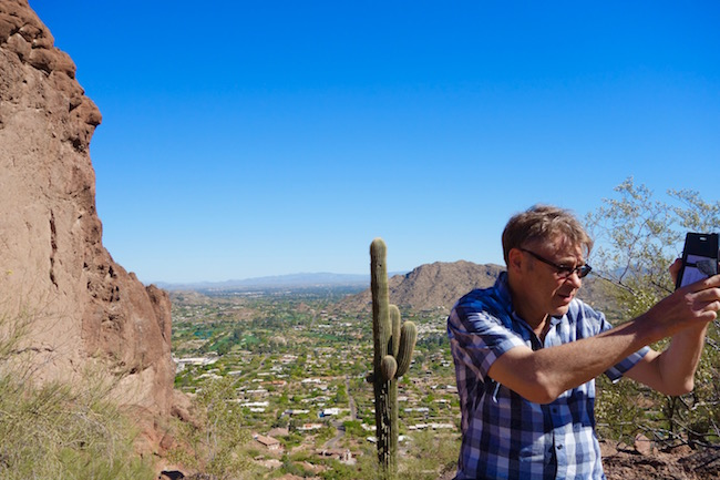Camelback Mountain hike photos