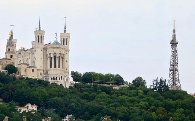 Metallic Tower of Lyon, France