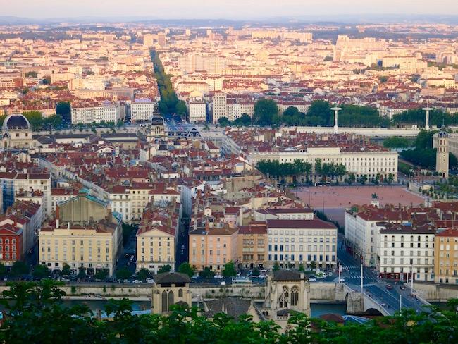 Nice view of Lyon