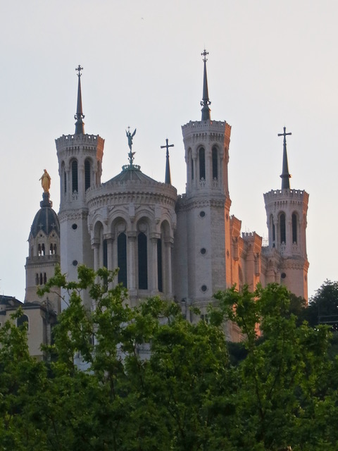 What to do in Lyon, see the basilica