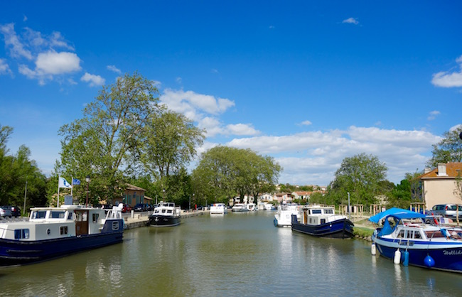 Canal du Midi cruise Capestang