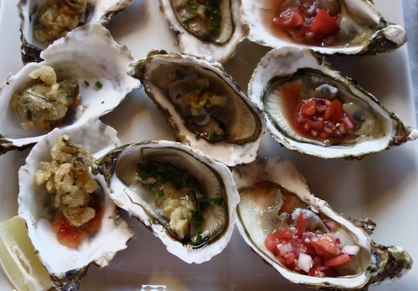 Canal du Midi cruise cuisine oysters
