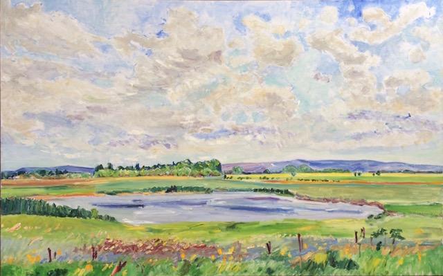 Dorothy Knowles Saskatchewan prairie painting