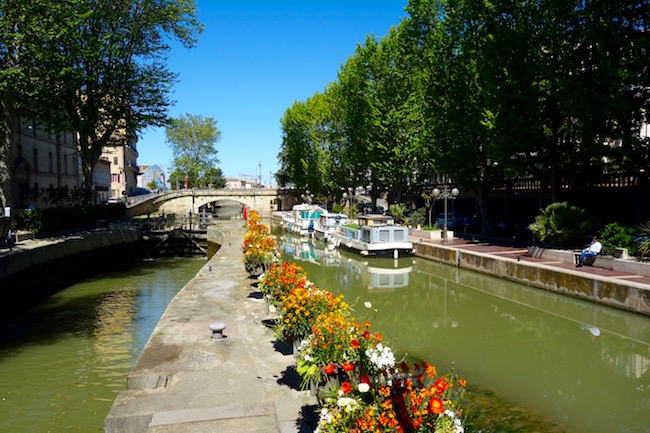 Things to do in Narbonne France, see the Canal de la Robine