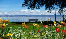 One day in Evian-les-Bains, France