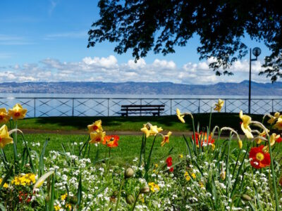 One day in Evian les Bains France