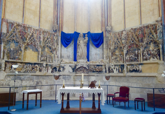 Retable Narbonne Cathedral