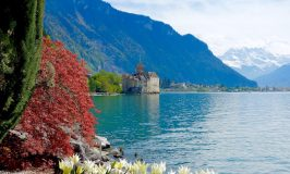 Chillon Castle near Montreux