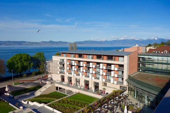 hotel in evian hilton evian les bains review. Black Bedroom Furniture Sets. Home Design Ideas