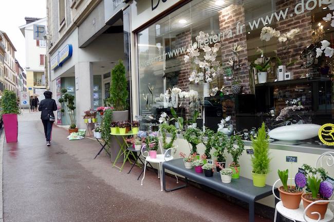 Exploring a street in Evian-les-Bains