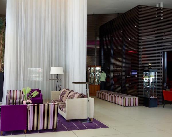 Hilton Evian-les-Bains review, hotel lobby