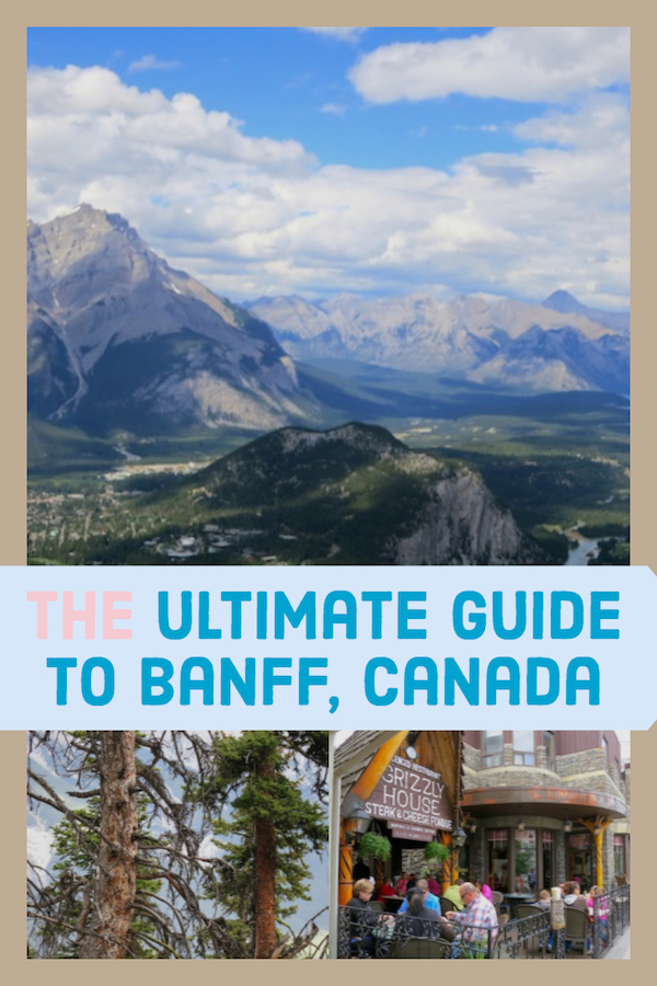 Ultimate guide to Banff, Alberta, a photo collage