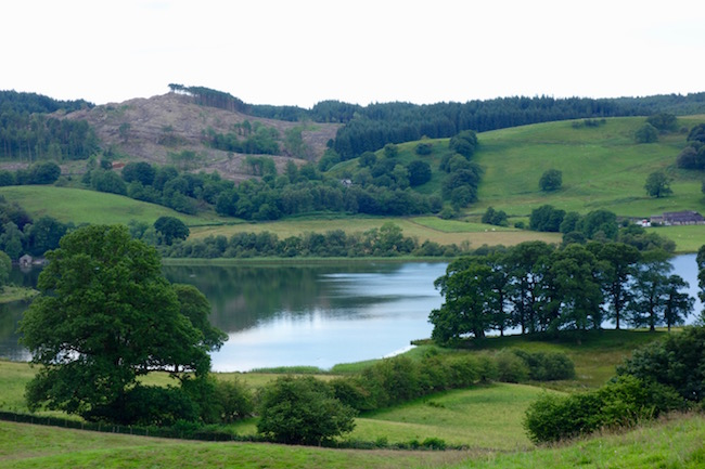 Beatrix Potter sights in the Lake District Esthwaite Water