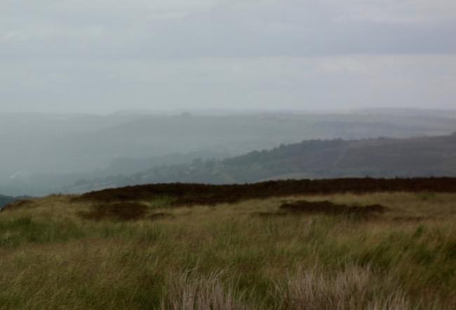 Bronte sisters in Haworth England, the moors