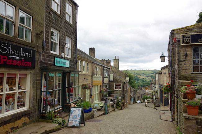 Bronte sisters in Haworth England