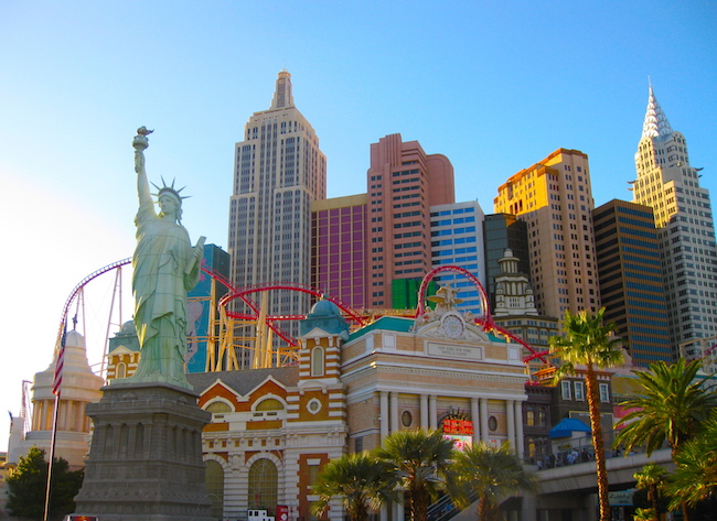 Things to do in the USA visit Vegas