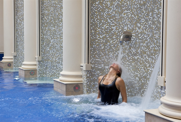Baths at Gainsborough Bath Spa hotel
