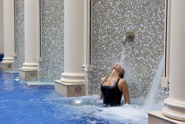 Baths at Gainsborough Bath Spa hotel