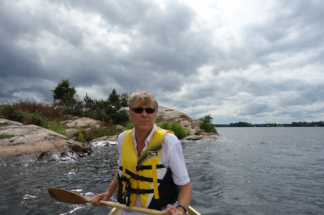 Canoeing on Stoney Lake, Viamede Resort Ontario