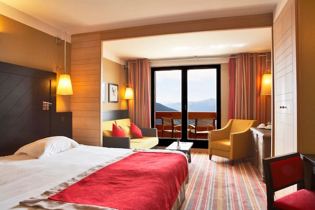 French ski resort, Rooms at Club Med Peisey Vallandry