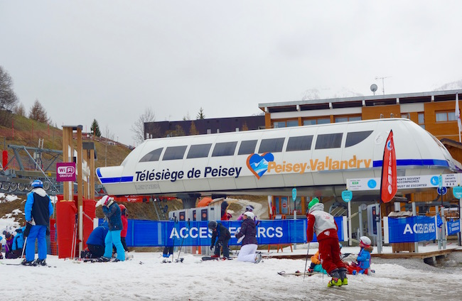 Vanoise Express Skiing in the Alps