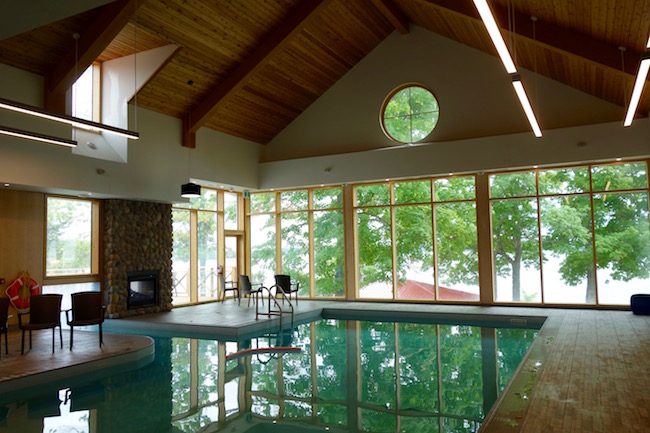 Viamede Resort Ontario indoor pool