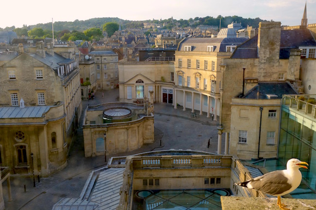 View of Bath from Gainsborough Bath Spa hotel