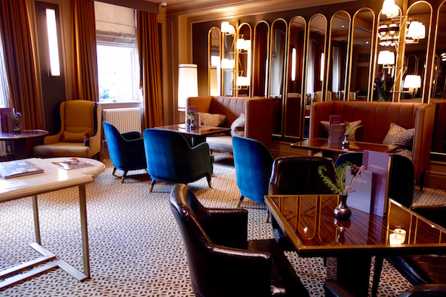 Canvas Room lounge at Gainsborough Bath Spa hotel